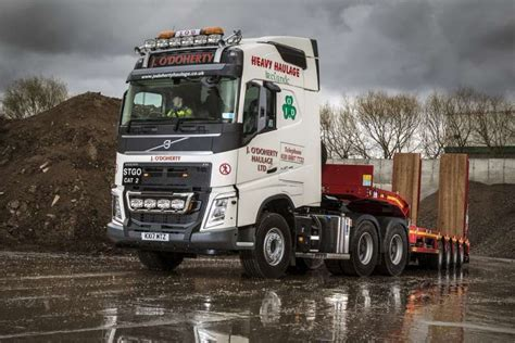 volvo truck double   odoherty agg net