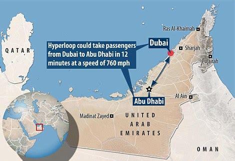 dubai to abu dhabi in 12 minutes: hyperloop one is making