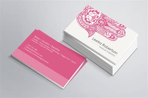 therapist business card templates orlando graphic design therapist business card