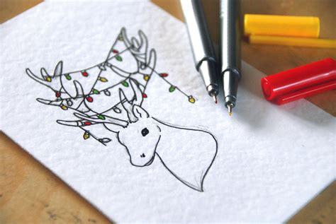 images of christmas cards to draw hand drawn christmas cards free downloads a blackbird