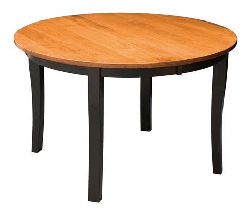 brady leg amish dining table kvadro furniture