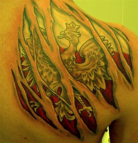 polish flag tattoo designs 11 best eagle images on