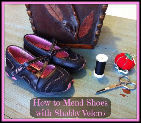 Shabby Velcro Sporty Shoes 1 lived intentionally how to fix shoes with shabby velcro