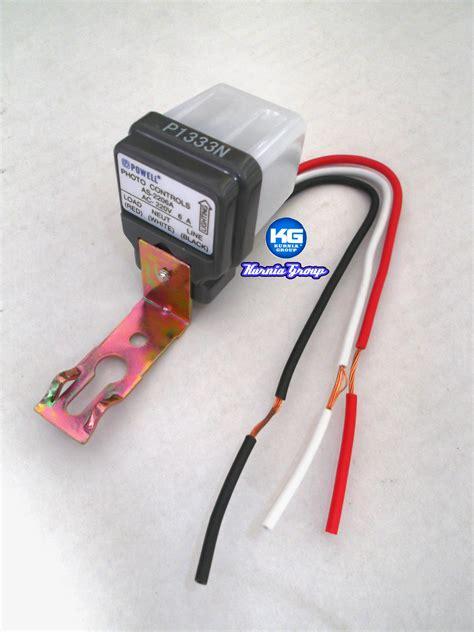 Saklar Otomatis Lu Jalan jual photocell 6a electric light switch saklar