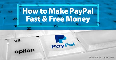 Make Money Online Fast Free And Easy - 6 easy ways to earn free paypal money online without surveys
