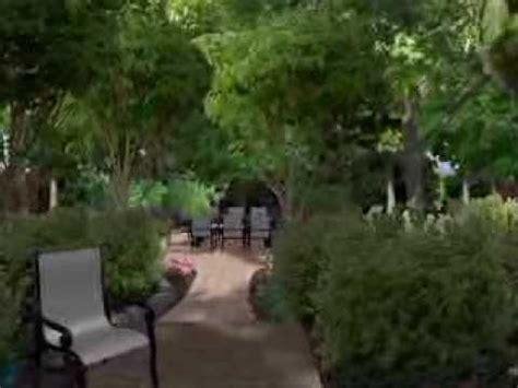 backyard woods landscape design for a mature woods backyard youtube