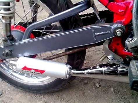 Knalpot Kolong Rx King Rx Spesial Black Dof Belang motor trend modifikasi modifikasi motor yamaha doovi