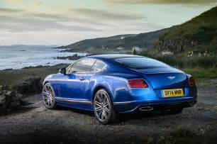 Bentley Coupe Gt Price 2015 Bentley Continental Gt Speed Coupe Rear Three