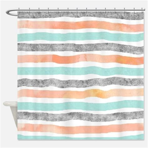 gray and orange shower curtain modern grey and orange shower curtains modern grey and