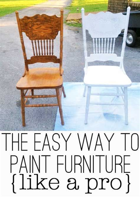 furniture tips and tricks the easy way to paint furniture like a pro table and chairs furniture and diy and crafts