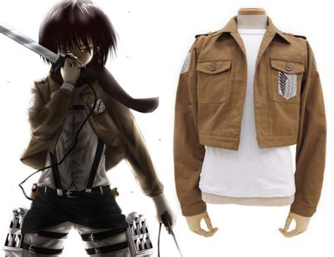 Jaket Attack On Titan 01 1 free shipping attack on titan the recon corps wings of freedom boy s jaket anime costume
