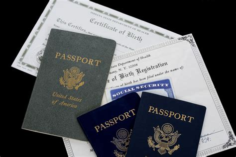 Birth Records For Birth Certificate For Passport Obtaining A Passport For Travel