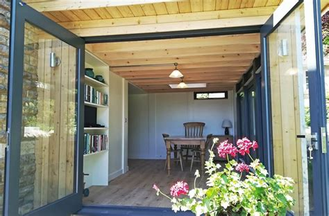 timber dining room extension  bath mosspods