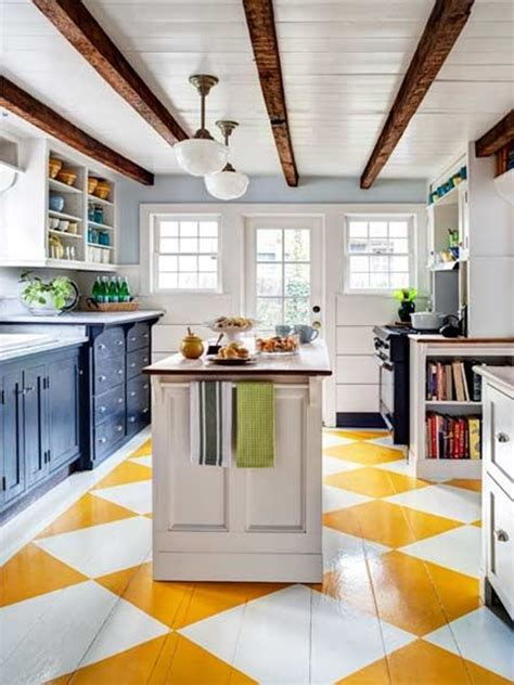 painted kitchen floor ideas painted wood floor ideas furnish burnish