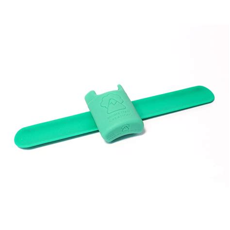Hsc Detox by Hsc Slappack Silicone Lighter Holster Green The Bong Shop