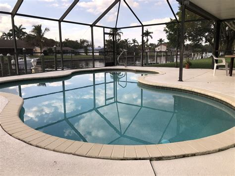 fort myers boat slip rentals deep water canal home 50 foot private boat slip dock