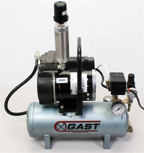 gast 71r142 p251 d300x 1 3hp piston air compressor system moisture trap ebay
