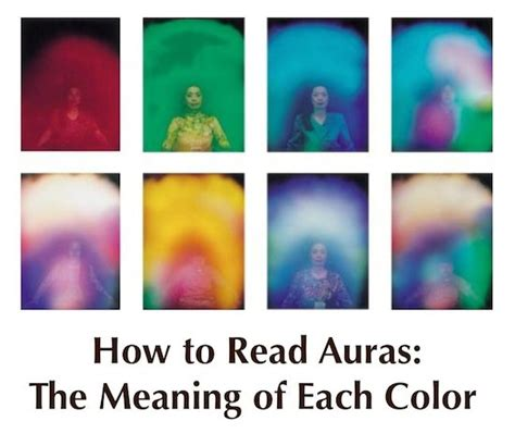 aura colors meanings aura imaging photography
