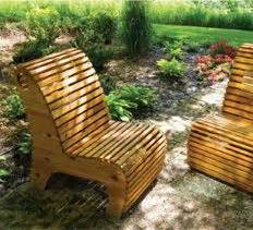 Slat Chair Plans by 3 Diy Landscaping Garden Woodworking Plans Projects Outdoor Slat Chair Project Plan