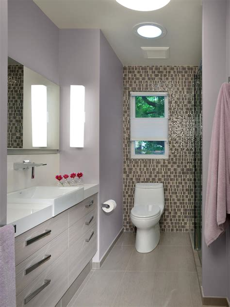 tile accent wall in bathroom photos hgtv