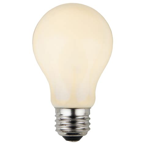 white bulb lights e26 and sign bulbs a19 opaque white 25 watt