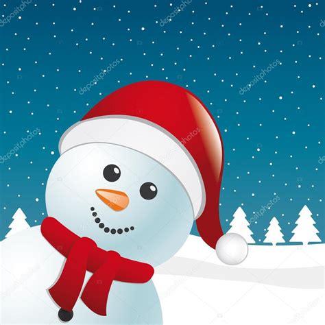 imagenes santa claus azul mu 241 eco de nieve con bufanda y santa claus fondo sombrero