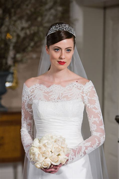 long sleeve wedding dresses dressed up