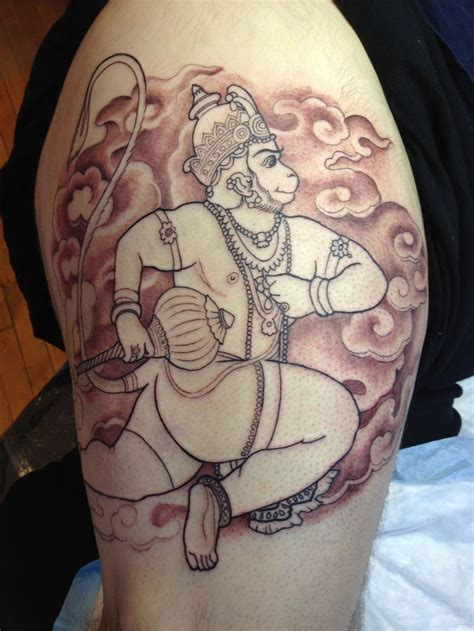 hanuman tattoo 25 best ideas about hanuman on trishul