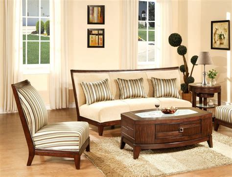 Wooden Living Room Furniture Sets Mesmerizing Modern Wooden Sofa Sets For Modern Living Room Interior Design Iwemm7