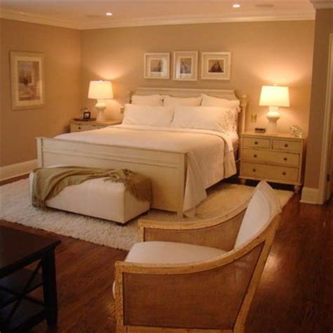 rug under king bed warm bedroom big rugs and love this on pinterest