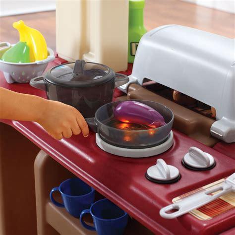 Grand Walk In Kitchen Grill Kids Play Kitchen Step2 Step2 Grand Walk In Kitchen And Grill