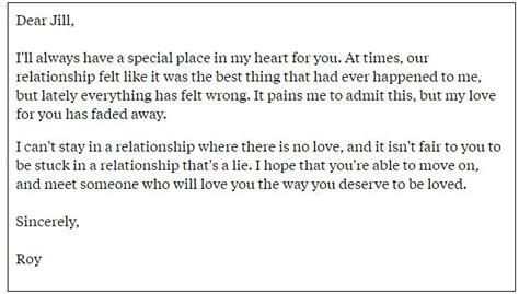emotional up letter some touching breakup letters that get you emotional