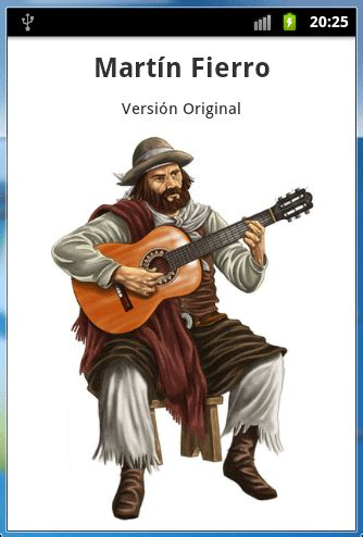 ejemplos imagenes sensoriales martin fierro mart 237 n fierro android apps on google play