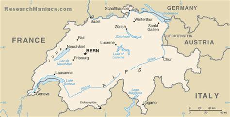 switzerland located