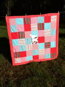 Patchwork Crib Bedding Baby Deer Patchwork Crib Bedding Set By Ohsewcountrychic