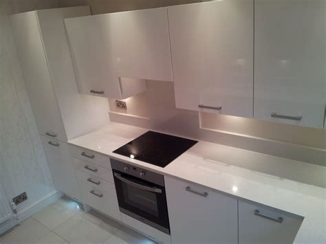 glamorous kitchen in bolton before amp after shots