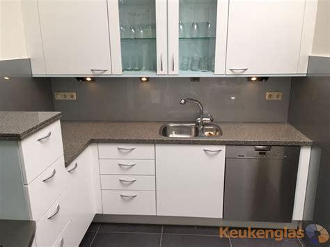 l keuken ikea cool grijze keuken achterwand glas with l keuken