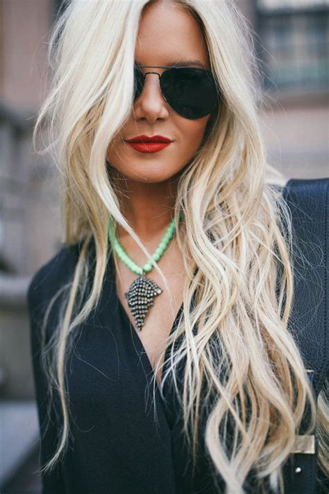 super long platinum blonde ombre hair 30 platinum blonde hair color shades and styles
