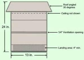 simple bat house plans build your own bat house