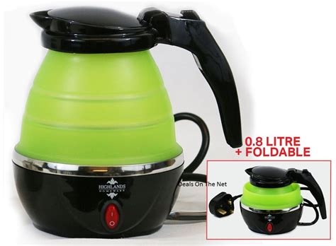 Dhaulagiri Travel Kettle 0 8 L 0 8l 240v travel foldable travel kettle boil electric