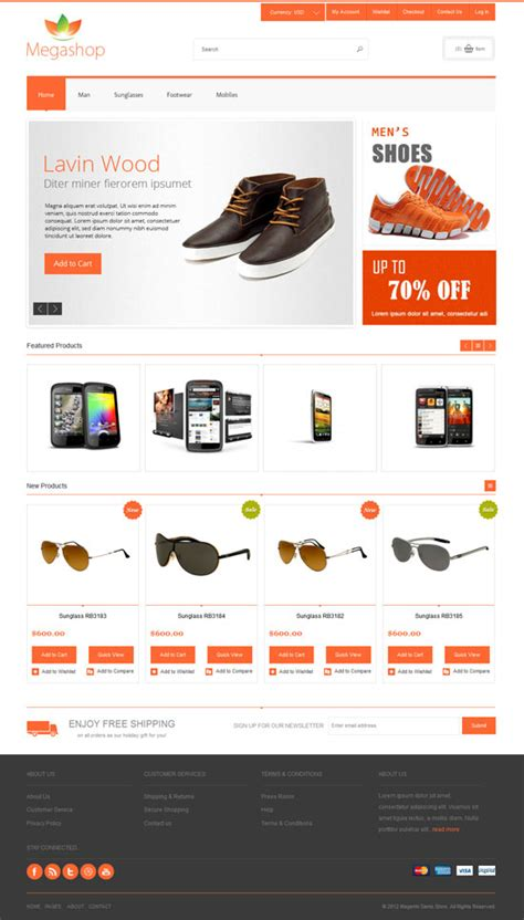 best ecommerce templates for your online shop brand
