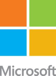microsoft logo vector (.pdf) free download