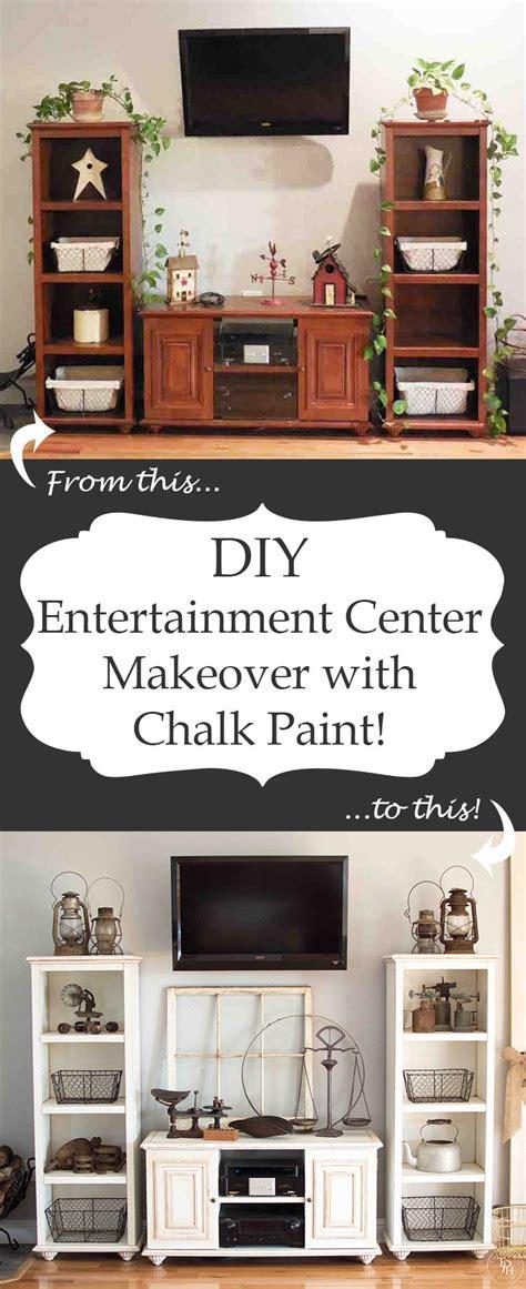 chalk paint entertainment center diy entertainment center makeover with chalk paint