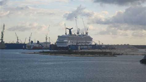 cruises in dry dock 4 carnival cruise ships have already completed dry dock
