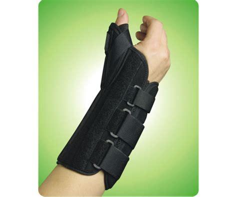 alex orthopedic 1341 rs ultra fit wrist brace with thumb ultra fit wrist brace with thumb abduction left hand black