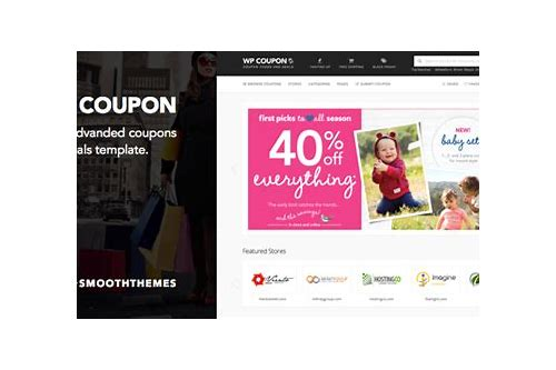 coupon html theme