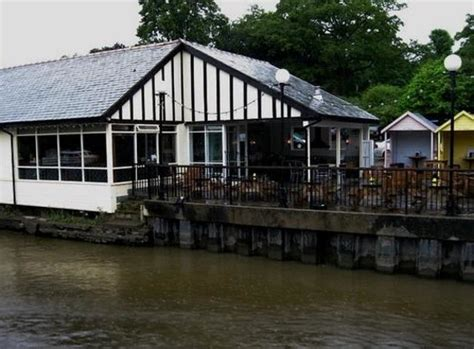 boat house chester boathouse as seen from the river picture of the