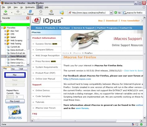 tutorial imacros chrome imacros for firefox