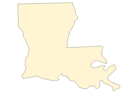 Louisiana Boot Outline by Geo Map Usa Florida United States Of America Vector Stencils Library United States Of