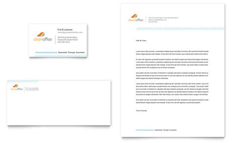 office stationery design templates letterheads office cleaners templates designs